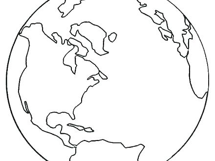 440x330 Coloring Pages Earth Coloring Pages Earth Coloring Page