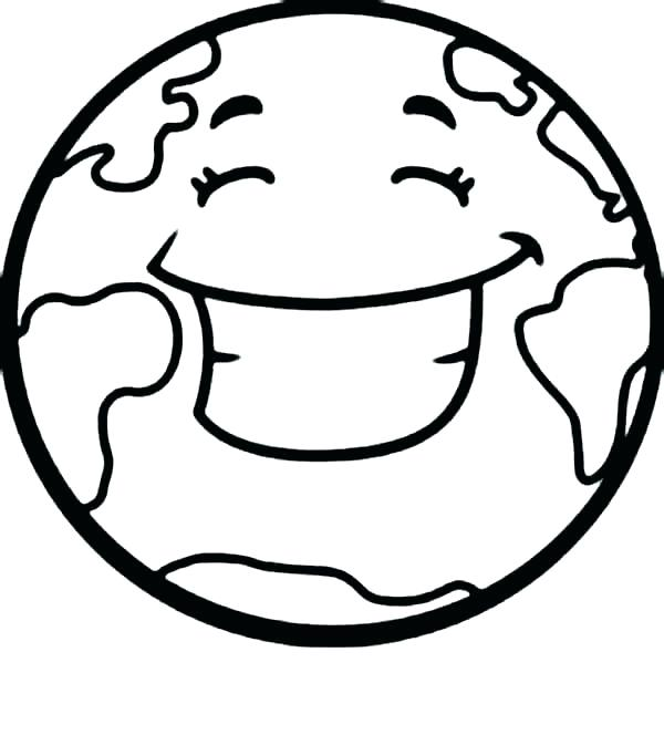 600x664 Coloring Pages Of The Earth Colori Page Of The Earth Earth Page
