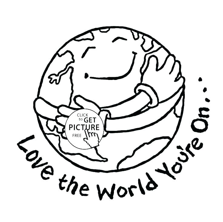 736x733 Coloring Page Earthworm Printable Earth Pages Day Book Planet Pa