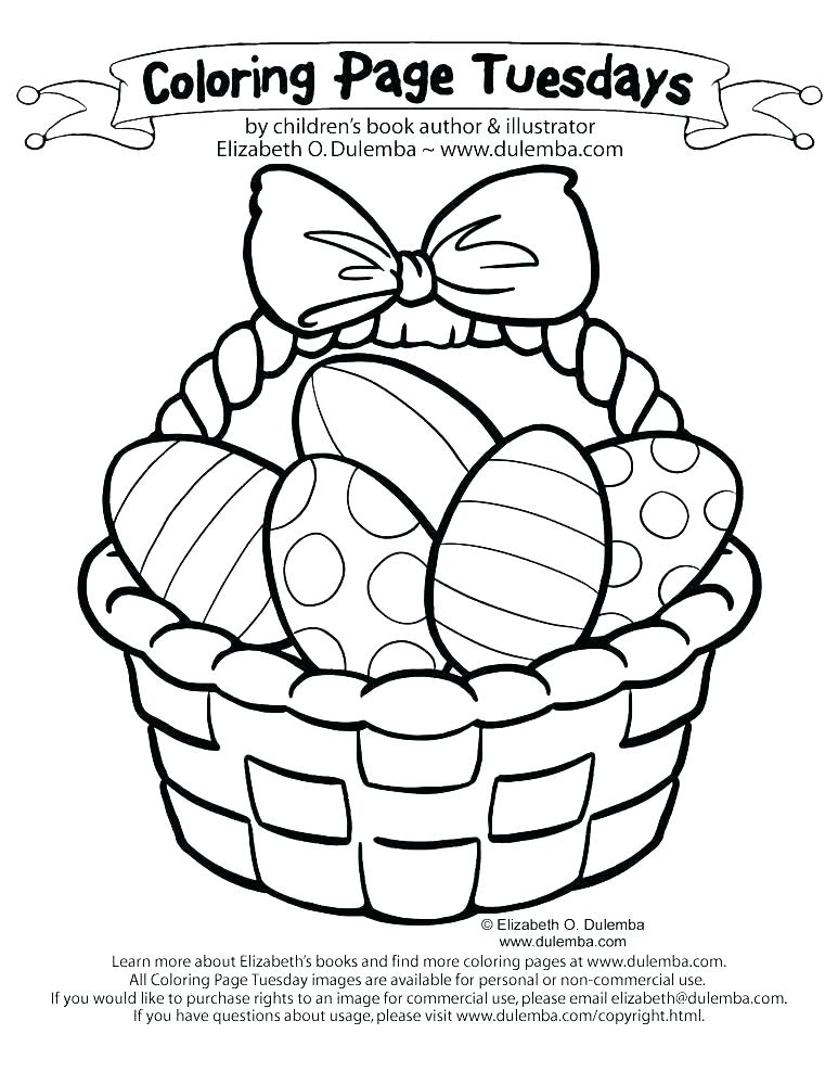773x1000 Empty Easter Basket Coloring Page Basket Coloring Page Basket