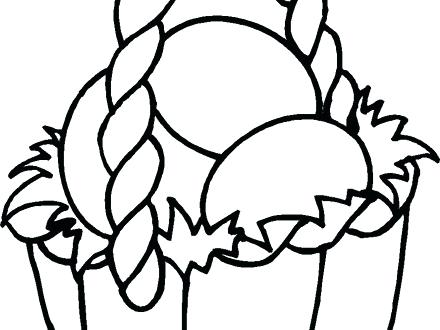 440x330 Easter Baskets Coloring Pages Printable Basket Coloring Pages