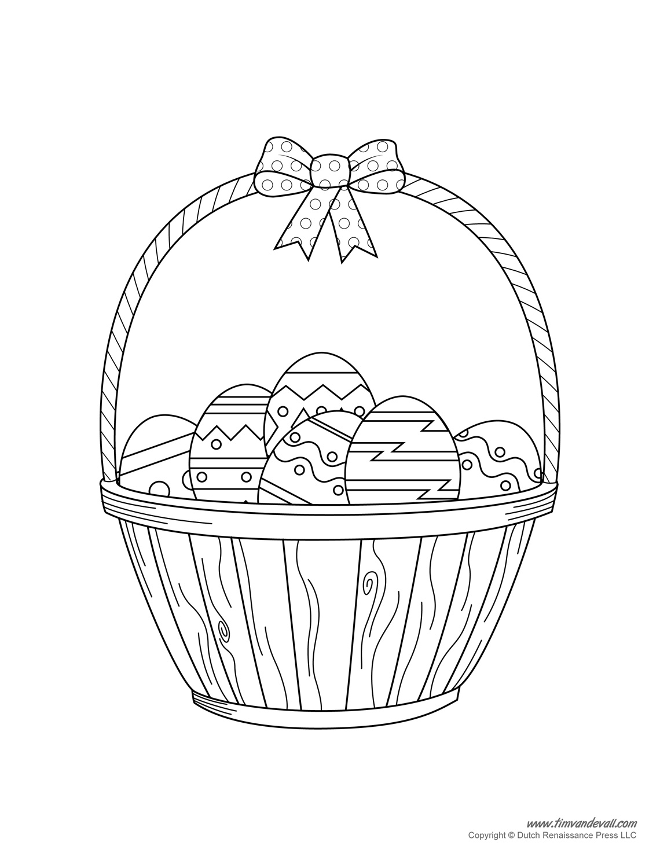 1159x1500 Easter Basket Template, Easter Basket Clipart Easter Craft