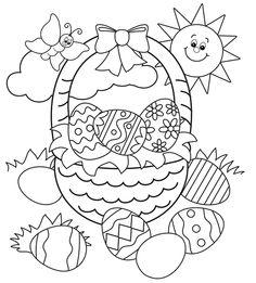 236x261 Easter Craft Ideas Pintar, Colorear Y Dibujo