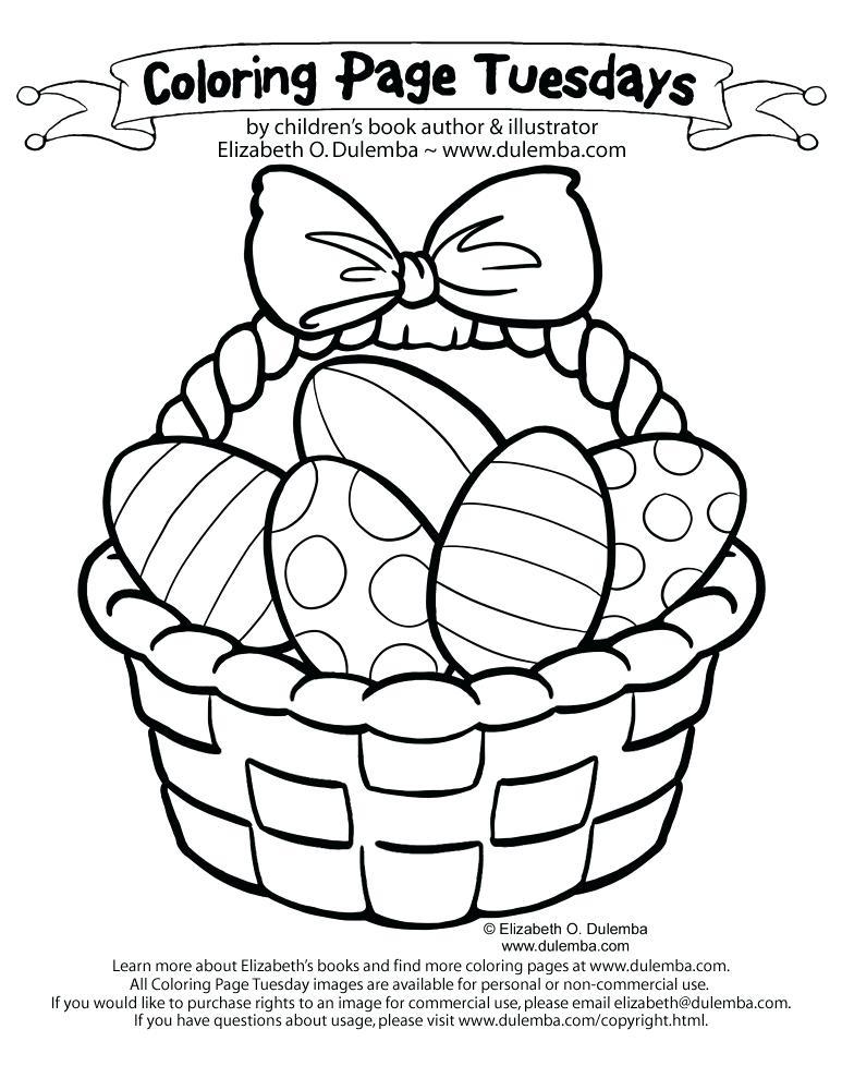 773x1000 Make An Easter Basket Coloring Page Basket Printable Coloring