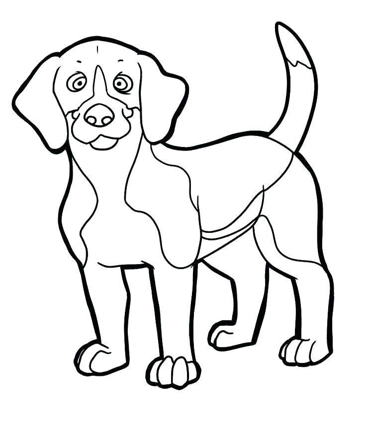 736x858 Beagle Coloring Pages Free Coloring Pages Of Dogs Beagle Coloring