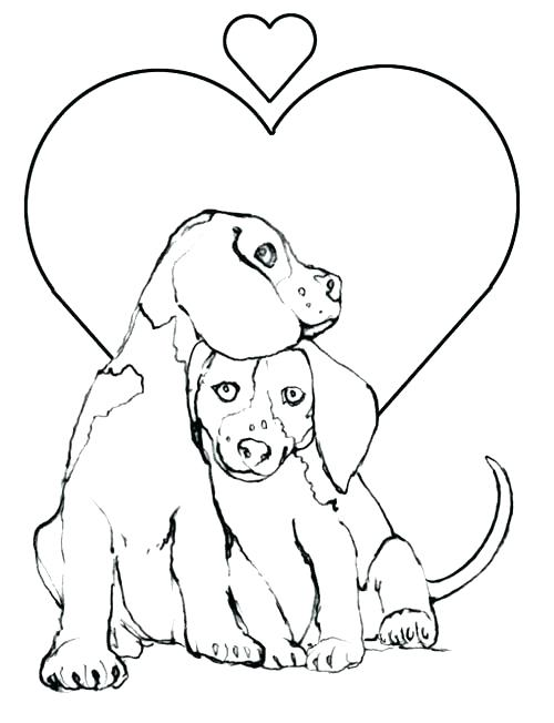 500x652 Exelent Beagle Coloring Pages Printable Photos