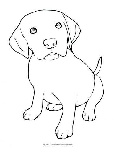 386x500 Coloring Page Beagle Coloring Pages Snoopy Cute Beagle Coloring