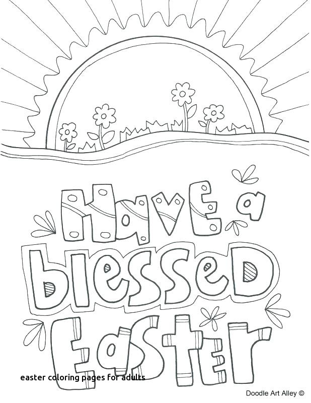 618x800 Easter Coloring Pages For Adults
