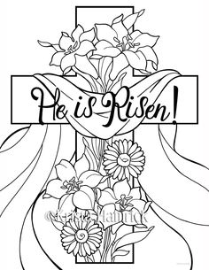 Easter Bible Coloring Pages at GetDrawings.com | Free for ...