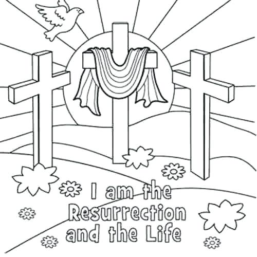 500x500 Free Coloring Pages Religious Coloring Pages Medium Size Of Free