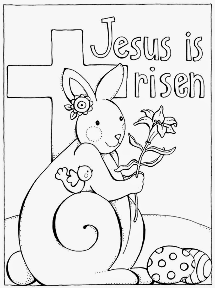 900x1206 Printable Christian Easter Coloring Pages Bible Within