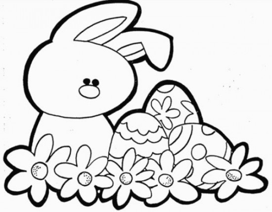 550x430 Easter Bunny Coloring Pages To Print Coloring Pages Of Easter