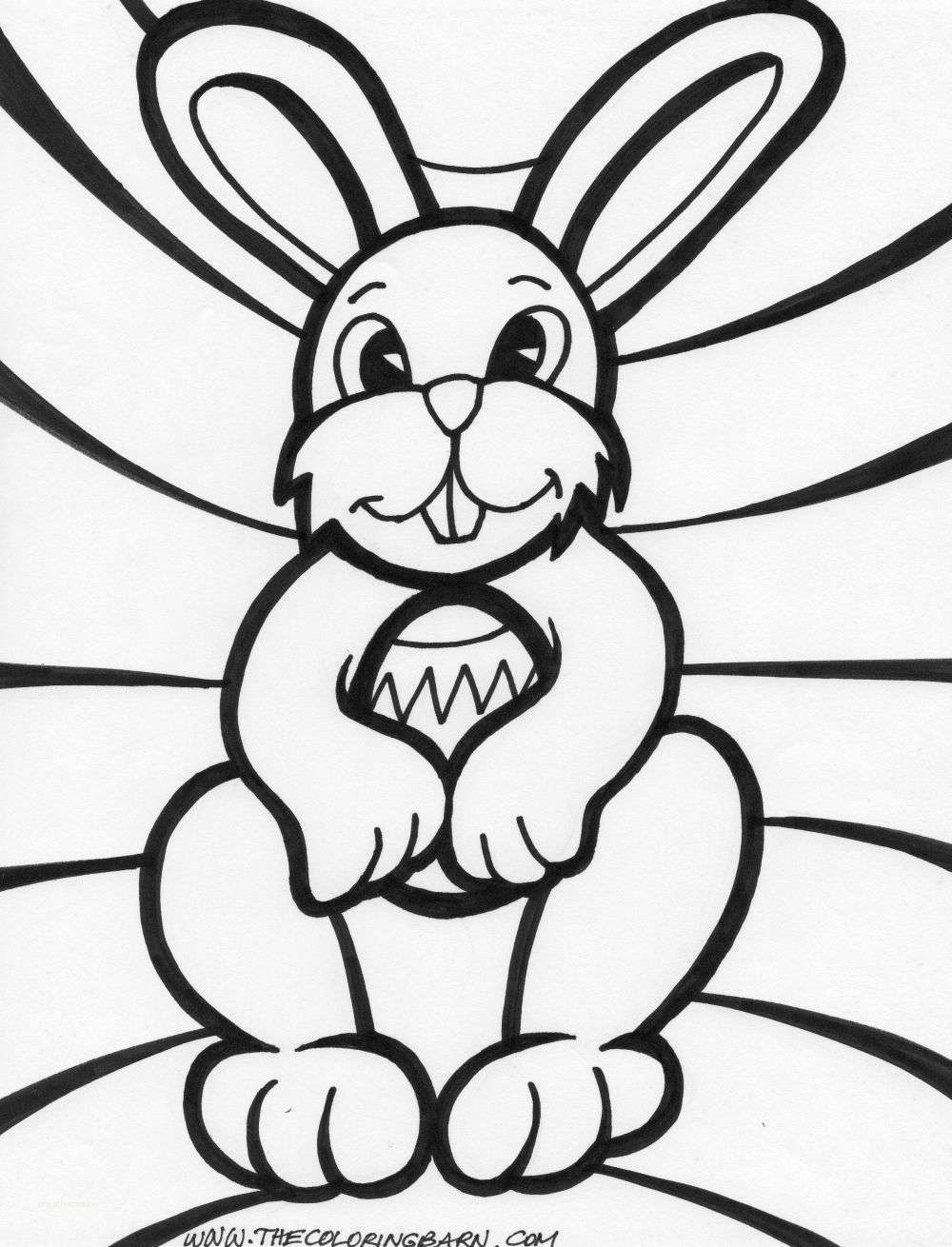 1000x1310 Awesome Cute Easter Bunny Coloring Pages Printable