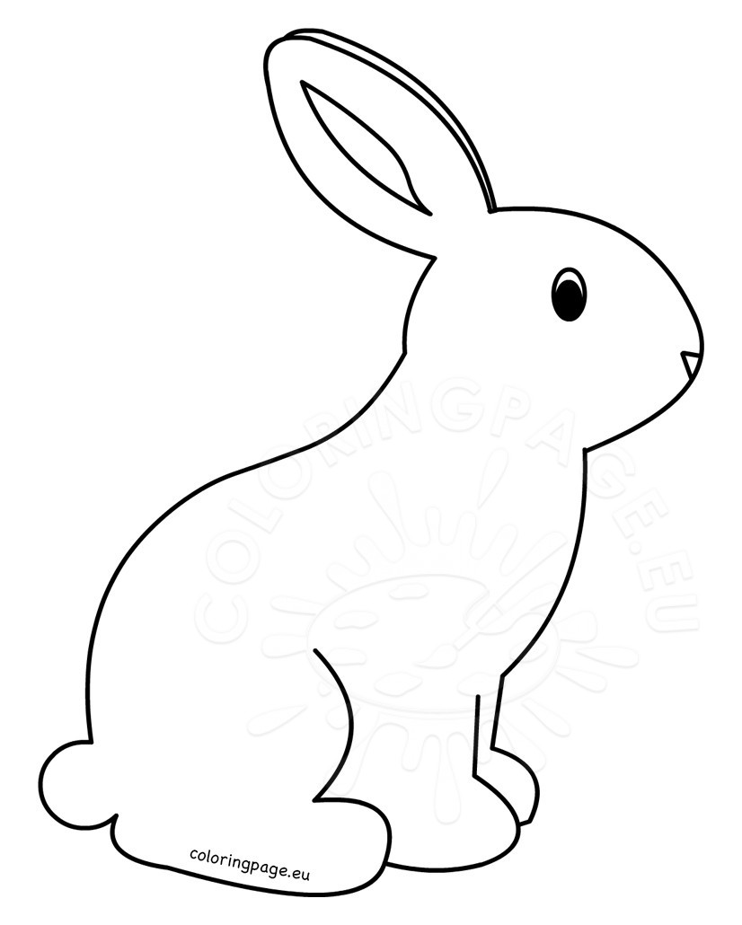 826x1030 Printable Rabbit Coloring Pages For Kids Coloring Page