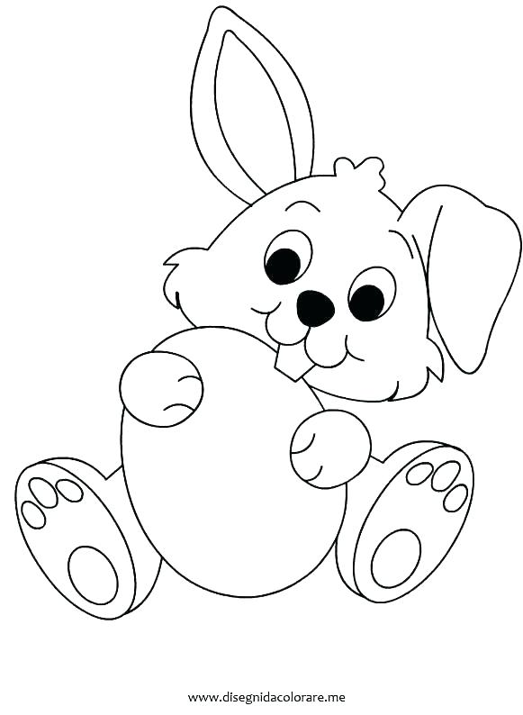 581x794 Coloring Pages Bunny Eggs Easy With Flower And Egg Coloring Pages