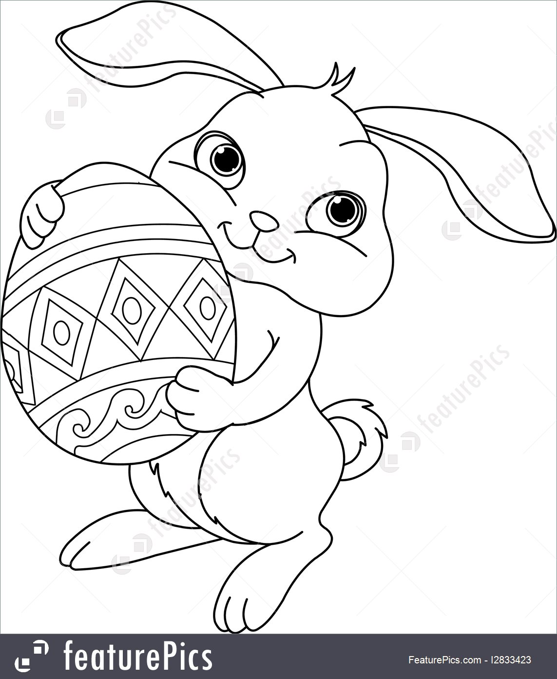 1143x1392 Easter Bunny Face Coloring Pages