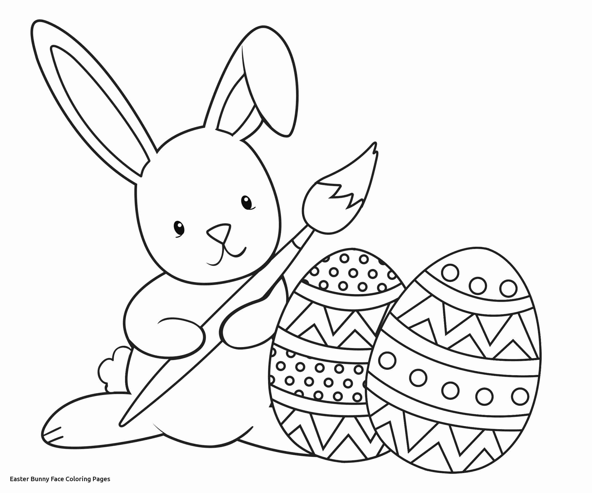 2400x2000 Easter Bunny Face Coloring Pages Olegratiy