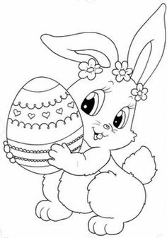 236x337 Easter Bunny Face Coloring Page Coloring Cartoon Easter Face Baby