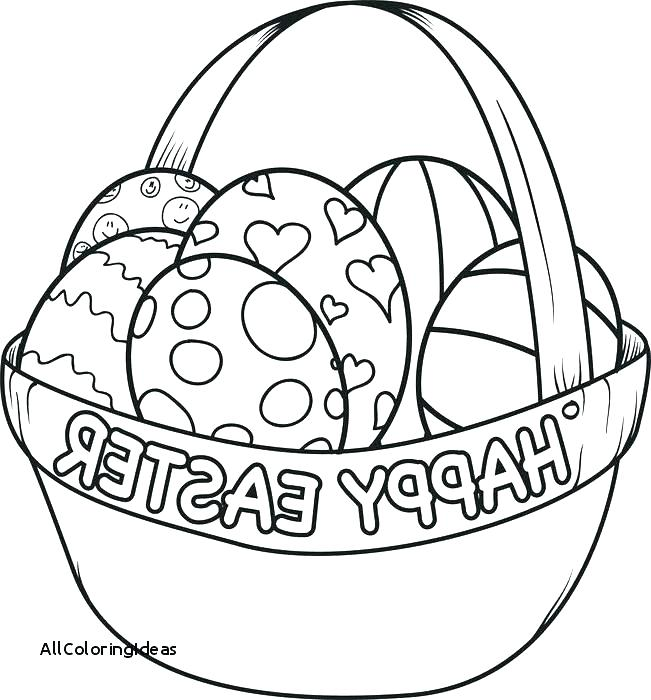 651x700 Basket Coloring Page Coloring Basket Coloring Pages Egg Eggs Site