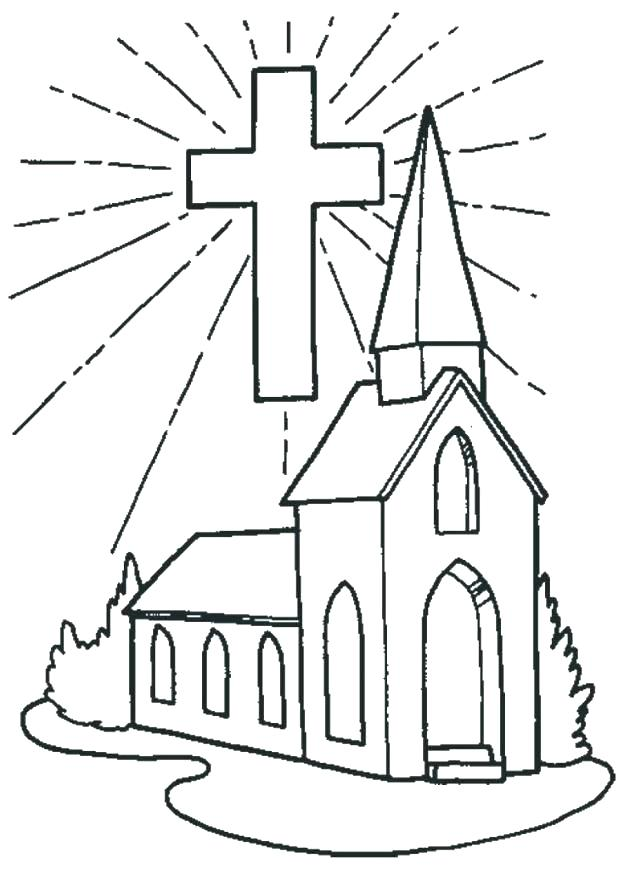 624x870 Coloring Pages For Church Easter Coloring Pages Church