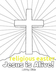 236x305 Religious Easter Coloring Pages With Easter Church Coloring Pages