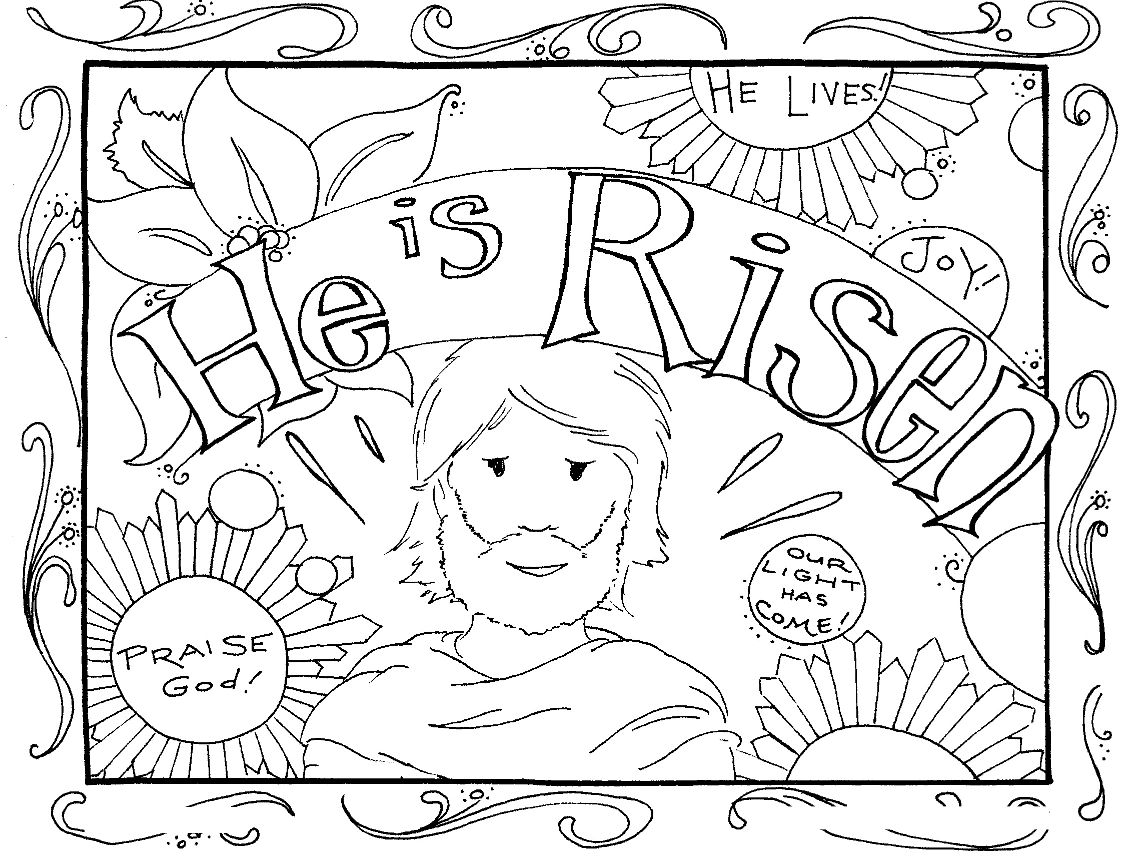 2243x1700 Best Of Easter Church Coloring Pages Color Bros