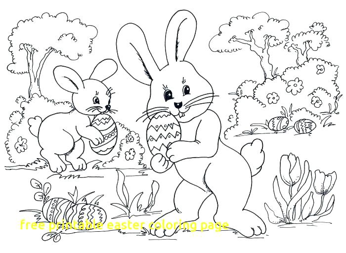 700x512 Printable Easter Coloring Free Coloring Pages Inspirational Free