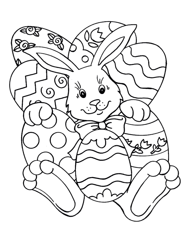 650x850 Coloring Printable Easter Coloring Pages Activities