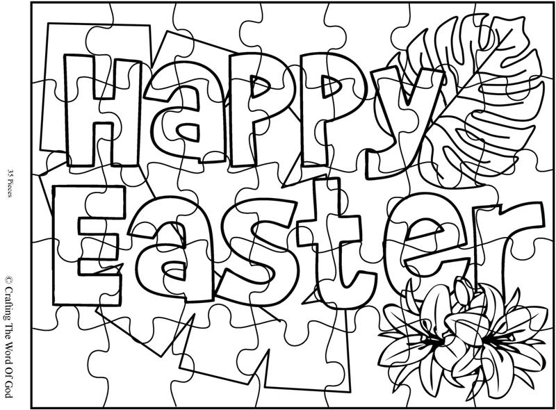 800x590 Easter Coloring Page Crafting The Word Of God
