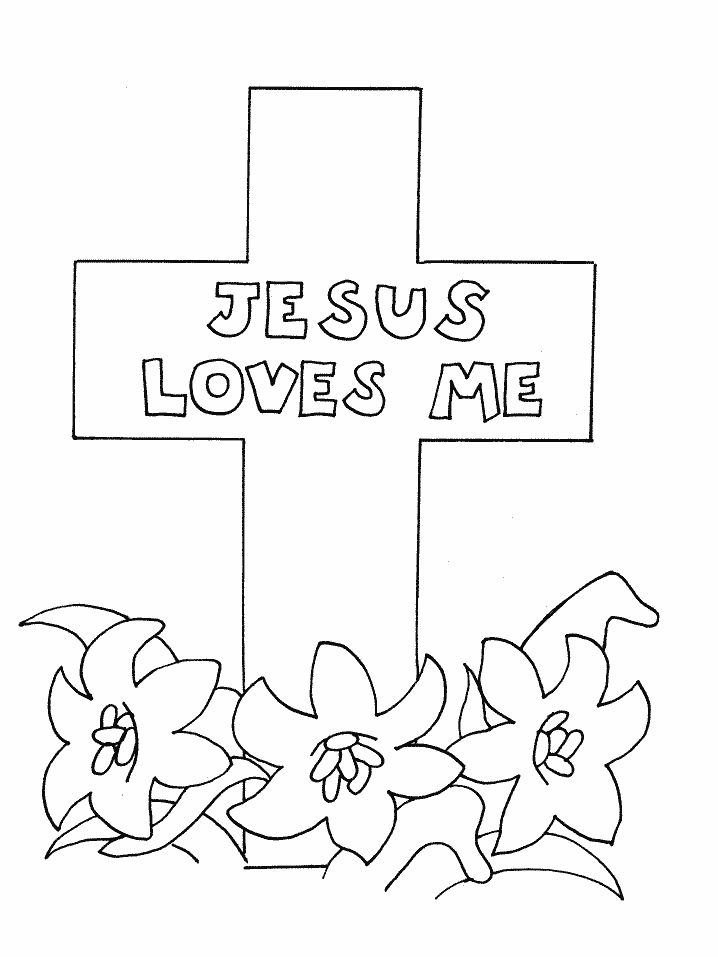 718x957 Easter Coloring Sheets For Kids Religious Activities Free
