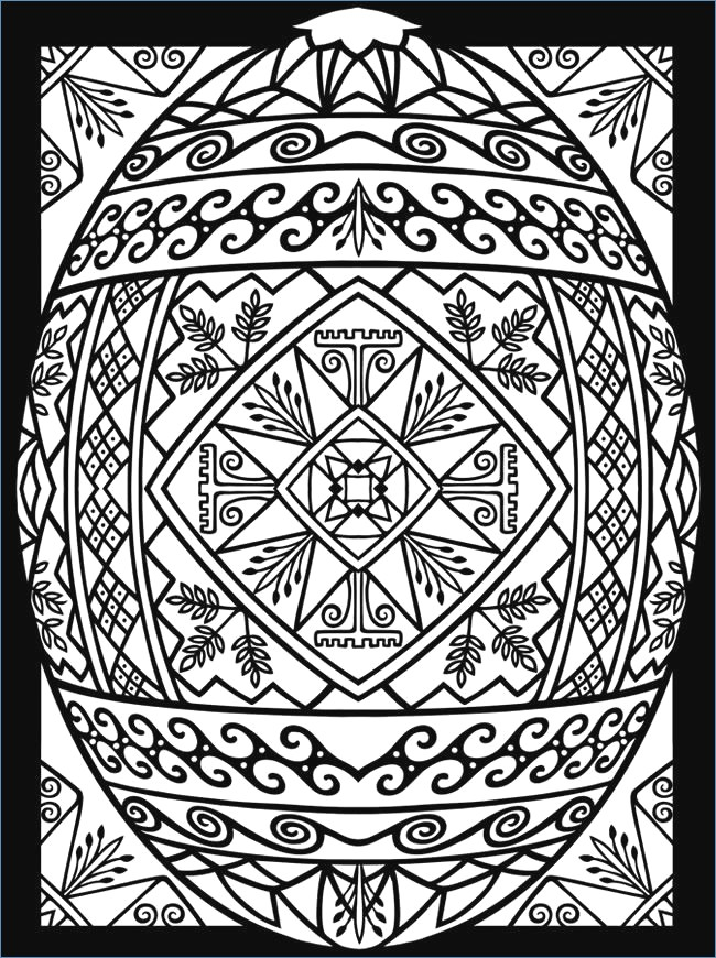 650x870 Easter Coloring Pages For Toddlers