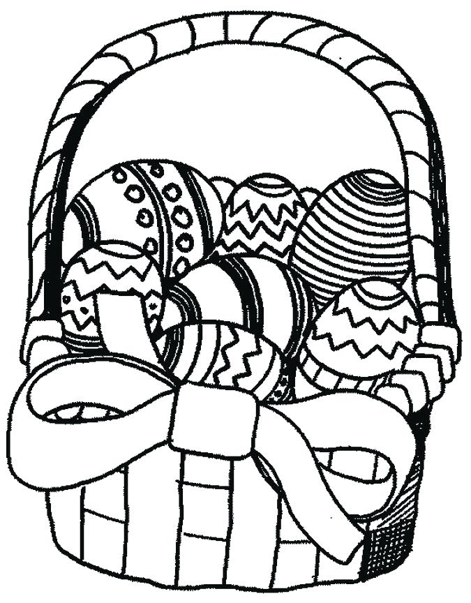 675x864 Easter Coloring Page