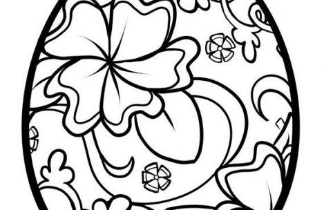 469x304 Easter Coloring Pages For Adults Just Colorings