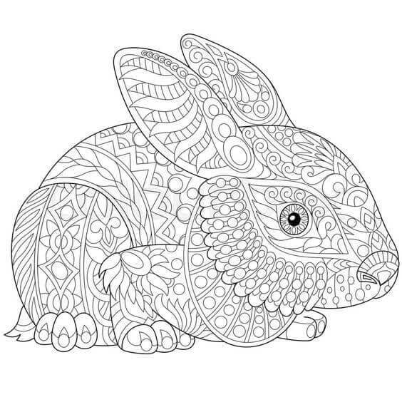 Easter Coloring Pages Adults at GetDrawings | Free download