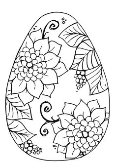 236x328 Best Coloring Pages Of Easter Eggs Free Printable
