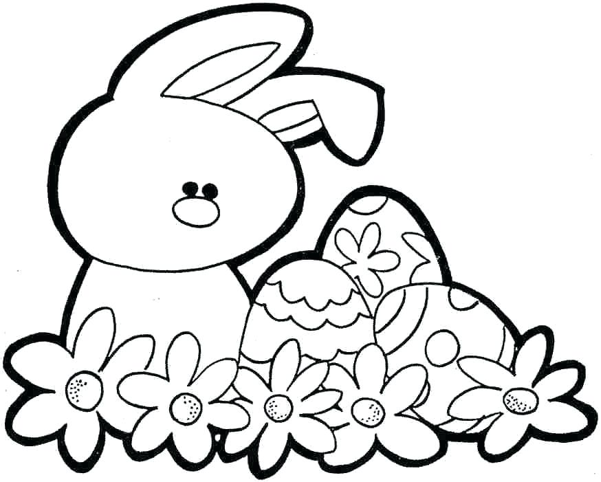 874x701 Easter Bunny Coloring Pages Bunny Coloring Page Easter Bunny