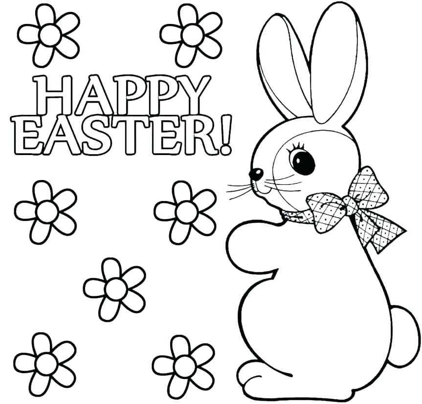 863x826 Baby Bunny Coloring Pages Vanda