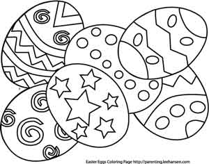 300x236 Easter Coloring Pages