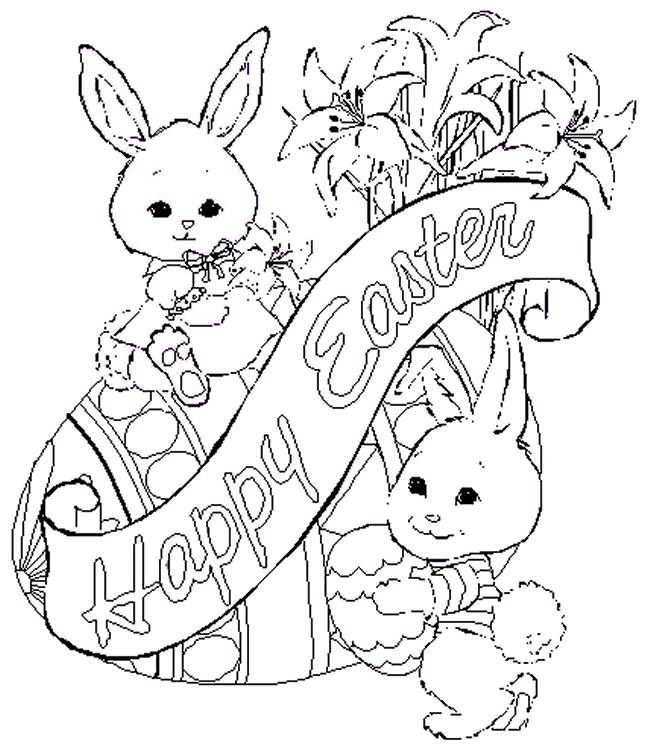650x750 Best Easter Coloring Pages Images On Easter
