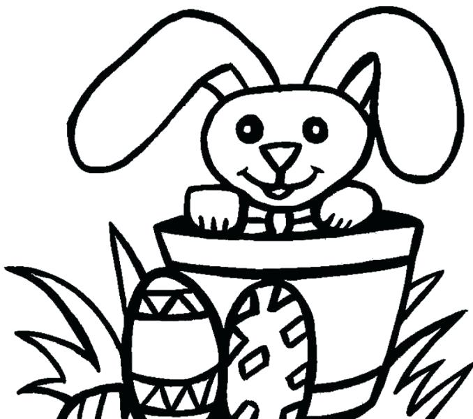 678x600 Easter Colouring For Kids X Toddler Easter Colouring Pages