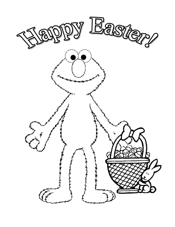 612x792 Elmo Easter Coloring Pages Bgcentrum