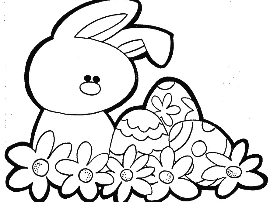 887x665 Best Easter Coloring Pages Kids