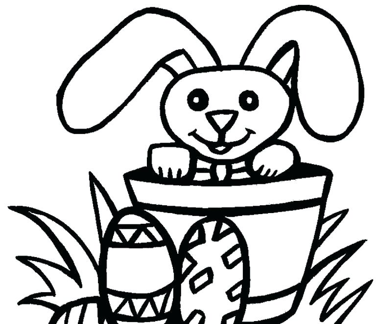 768x663 Free Easter Coloring Pages For Preschoolers Free Religious