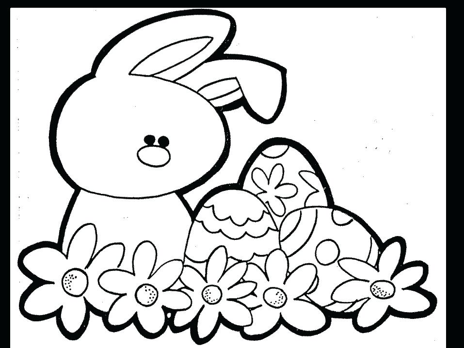 957x718 Coloring Pages And Coloring Books Free Printable Easter Coloring