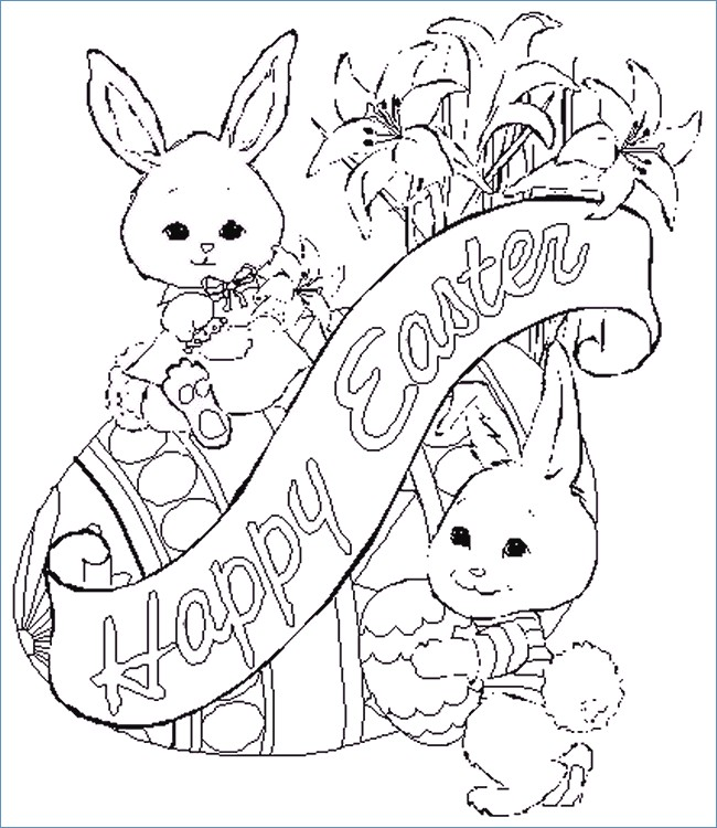 650x750 Easter Coloring Pages Baby Chick