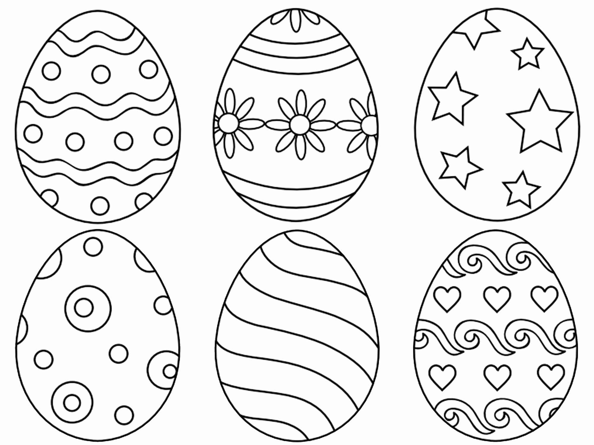 2000x1500 Easter Coloring Sheets Lovely Cool Awesome Easter Coloring Pages