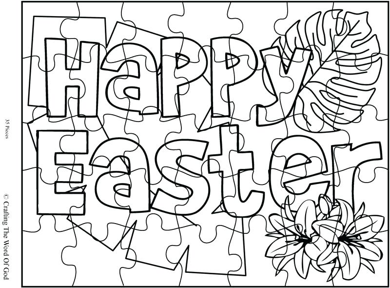 800x590 Easter Coloring Pages Pdf Easter Fun Pictures