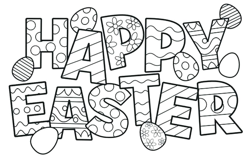 1024x667 Easter Coloring Sheets Religious Coloring Page Free Printable
