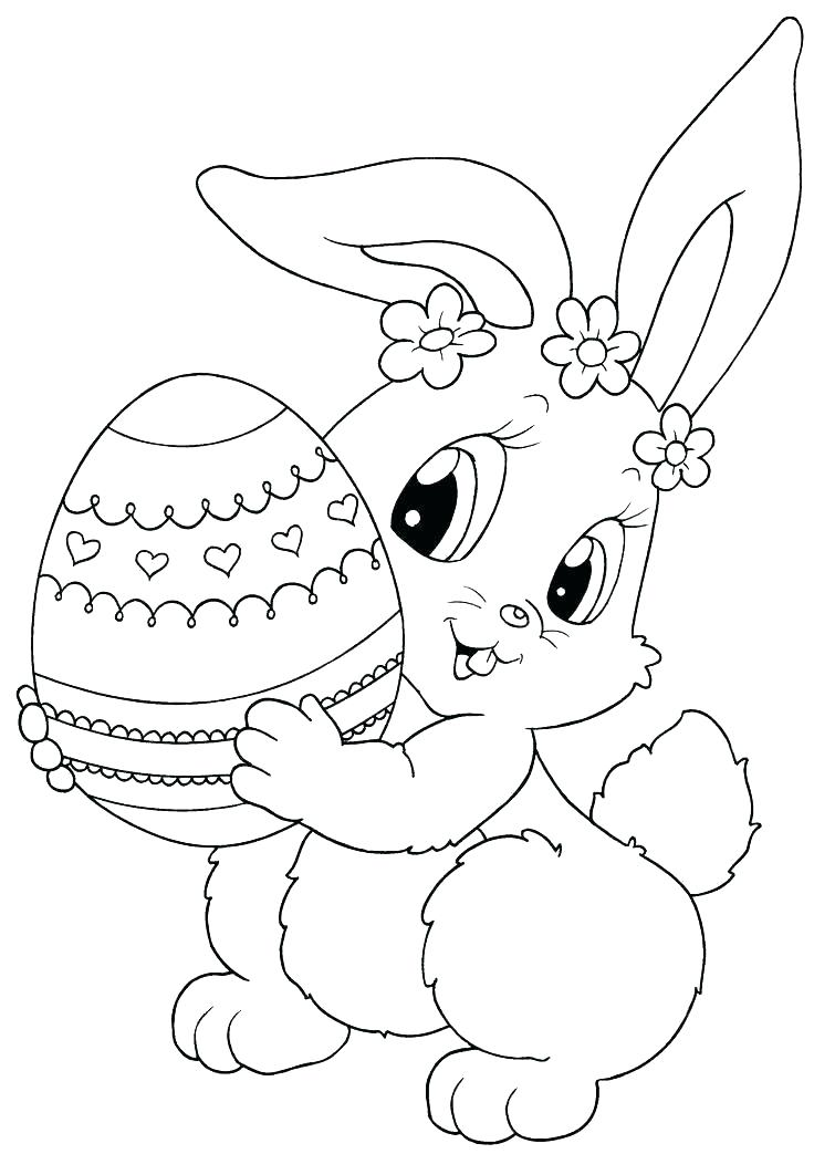 736x1043 Coloring Pages For Easter