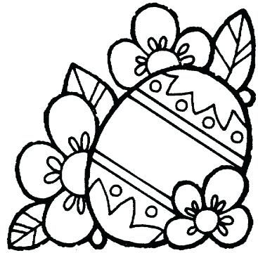 367x360 Easter Coloring Page